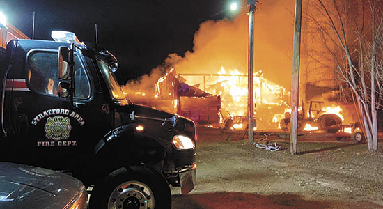 Fire claims Spindlers' parlor